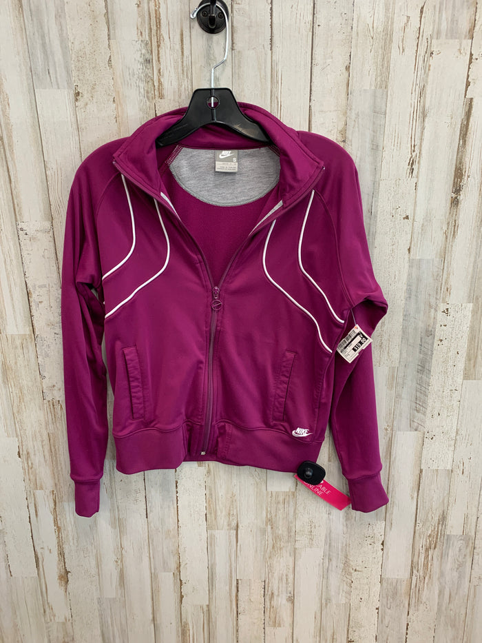 Athletic Jacket By Nike  Size: S