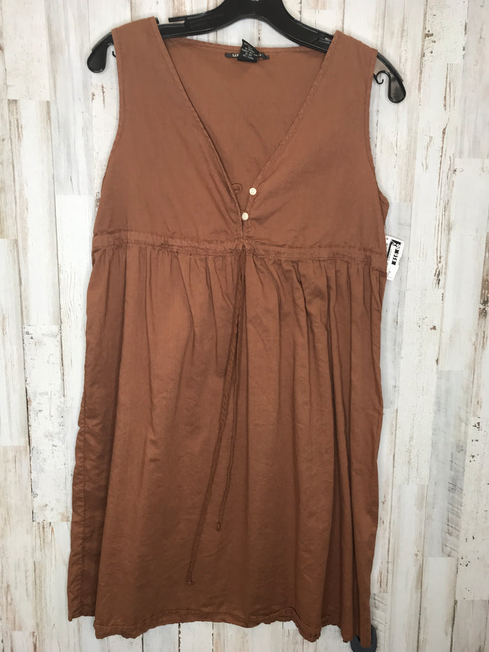 Dress Short Sleeveless By Lucky Brand  Size: M