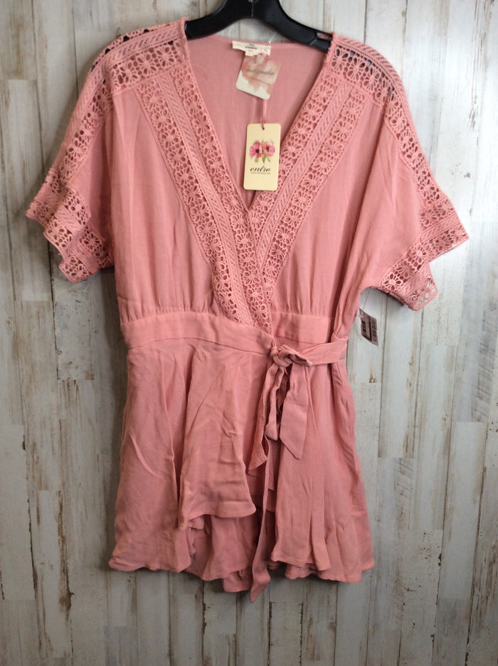 Dress Short Short Sleeve By Entro  Size: L
