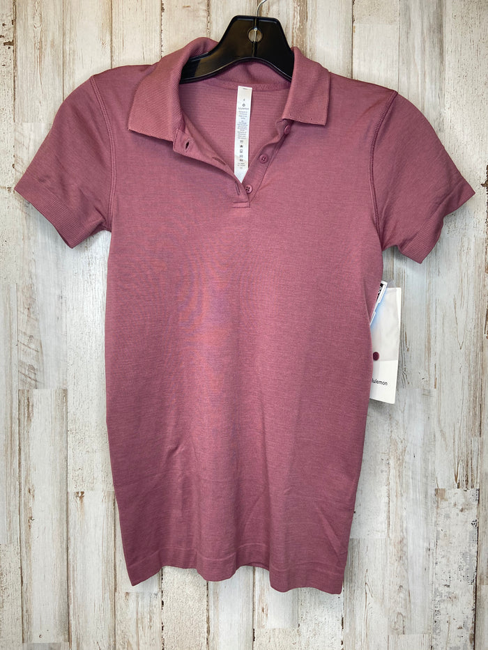 Athletic Top Short Sleeve By Lululemon  Size: S