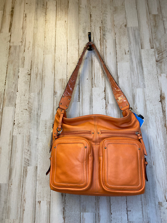 Handbag Leather By Tianello  Size: Large