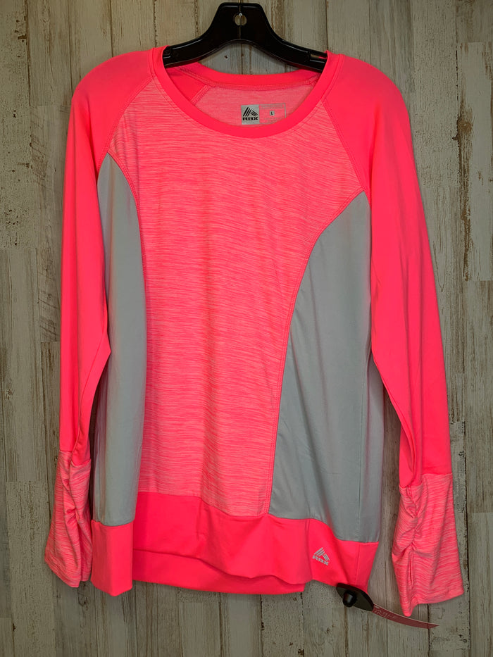 Athletic Top By Reebok  Size: L