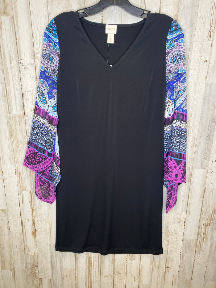 Dress Short Long Sleeve By Chicos  Size: Xs