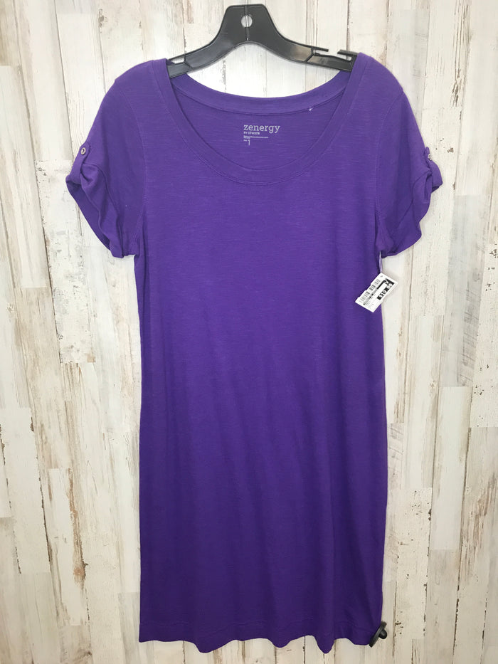 Dress Long Short Sleeve By Zenergy By Chicos  Size: S