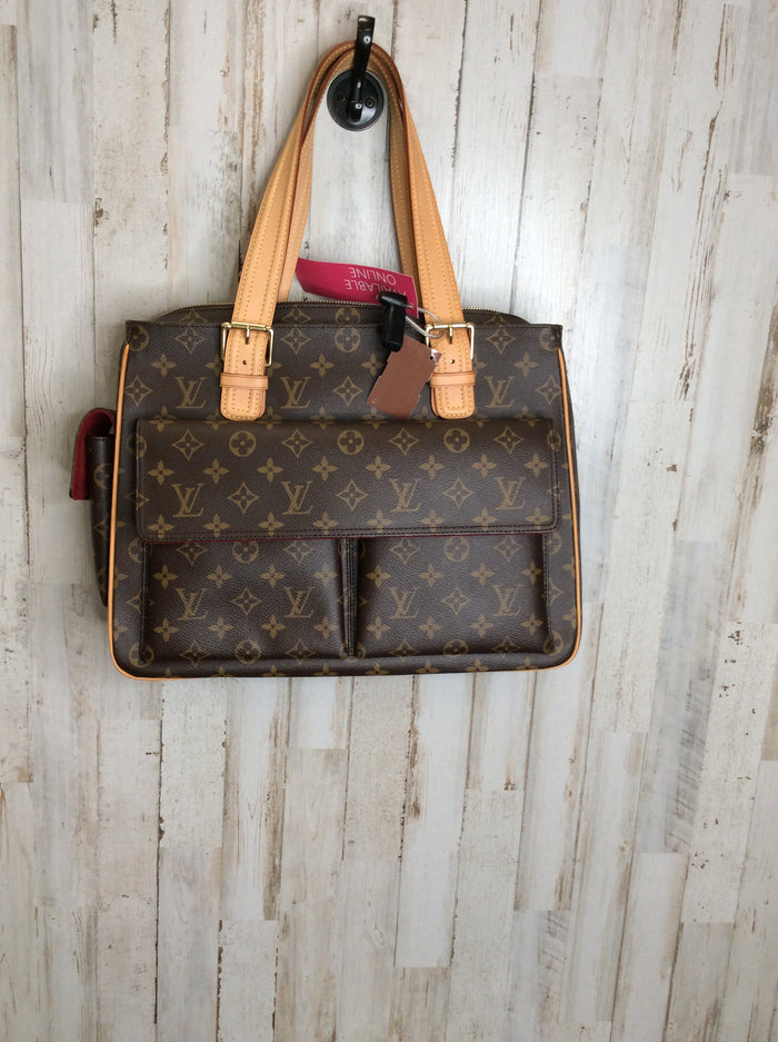 Handbag Designer By Louis Vuitton  Size: Large