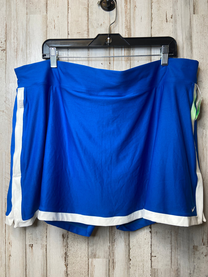 Athletic Skirt Skort By Nike  Size: 3x
