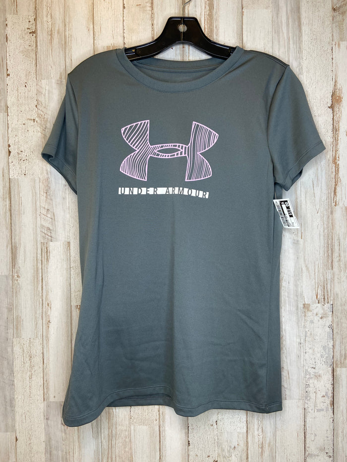 Athletic Top Short Sleeve By Under Armour  Size: M