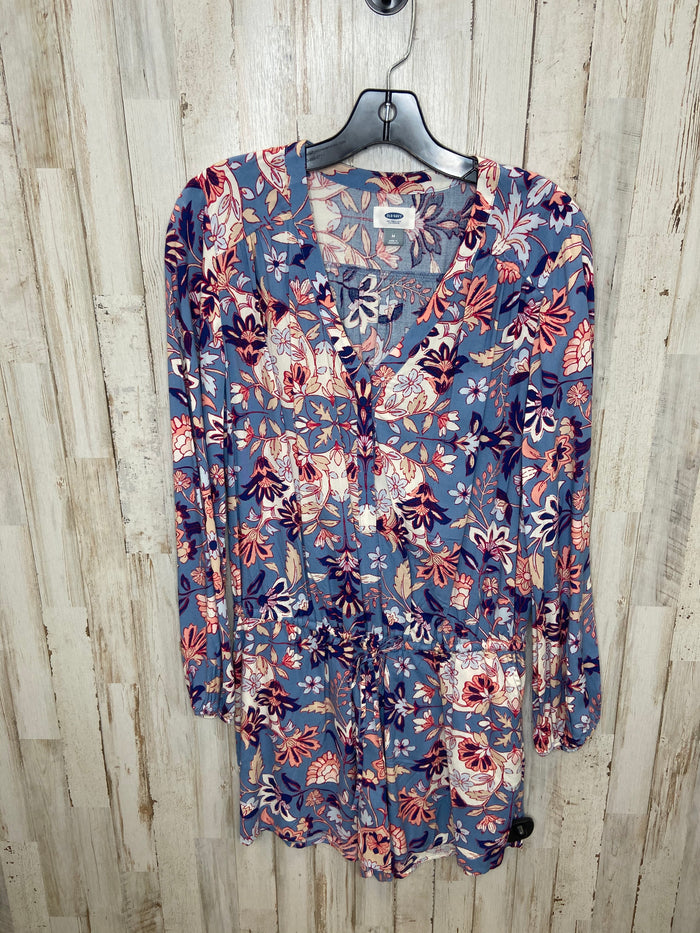 Dress Short Long Sleeve By Old Navy  Size: L