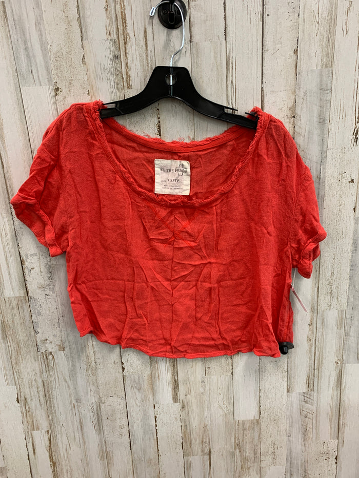 Top Short Sleeve By We The Free  Size: Xs