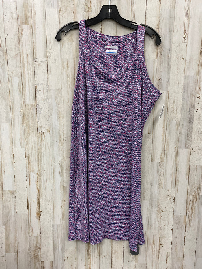 Dress Short Sleeveless By Columbia  Size: Xl