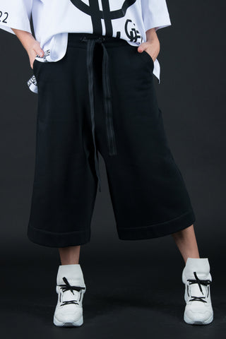 Women Wide pants, Urban Style black sport pants