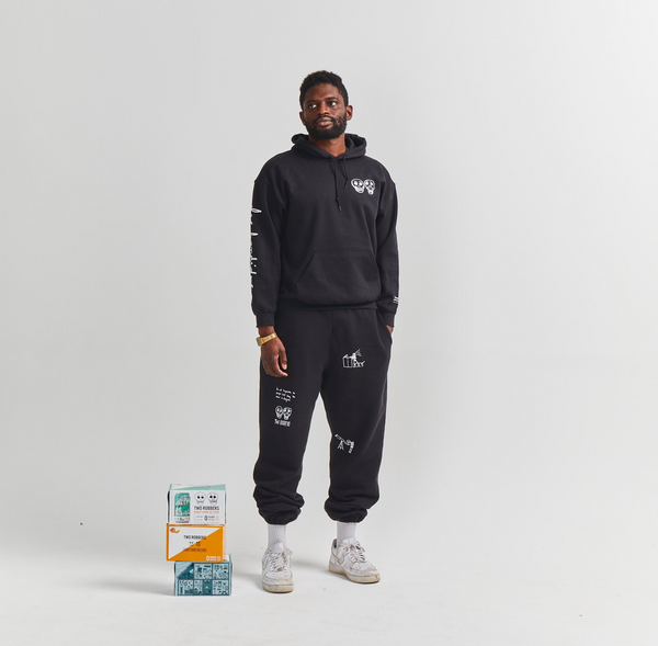 Two Robbers Hoodie & Sweats Bundle (Team Uniform)