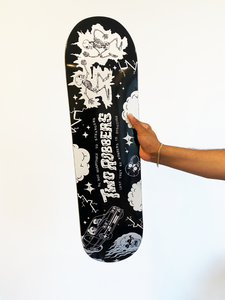 Two Robbers Skateboard Deck