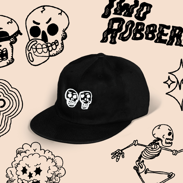 Two Robbers Six Panel Logo Cap