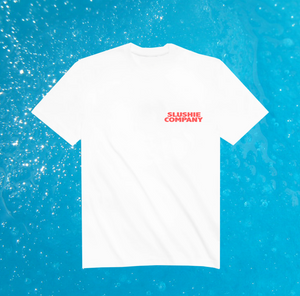 "Two Robbers ""Slushie Co."" T Shirt - White"