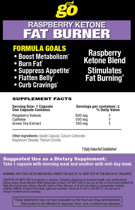 Raspberry Ketone FAT BURNER