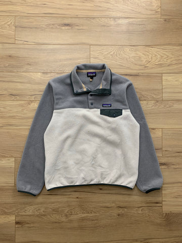 Patagonia Synchilla Snap Fleece 'Light Tan-Grey'