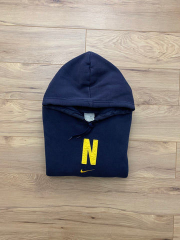 Vintage Mid-Check Hooded Sweatshirt