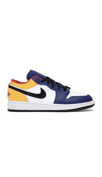 "Air Jordan 1 Low ""Royal Yellow"" (GS)"