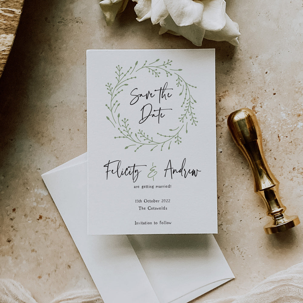 Bredon - Save the Date Card