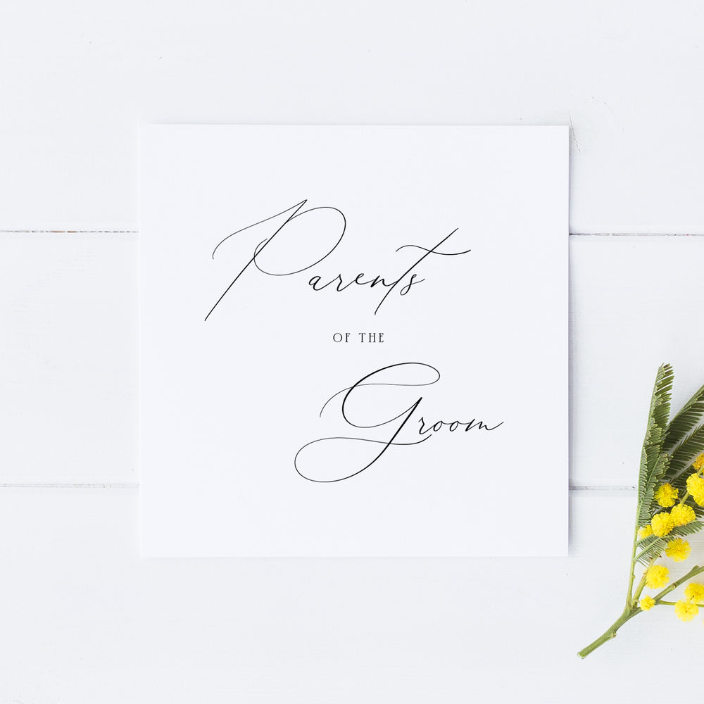 Parents of the Groom Card, Wedding Parents Card, Parents of the Groom Gift, Parents of the Bride, Mother of the Groom, Father of the Groom