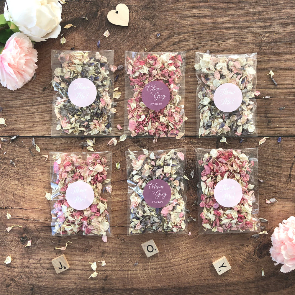 Biodegradable Confetti Pouches