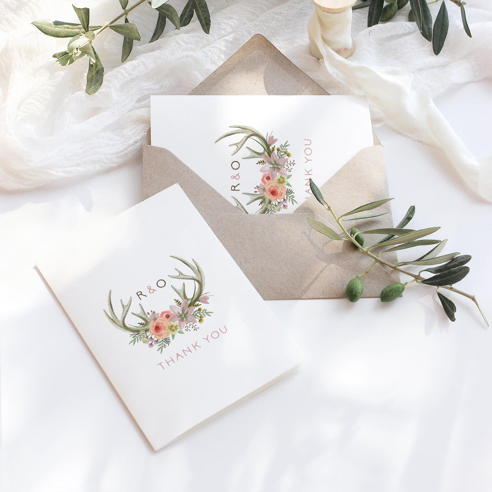 Epping - Wedding Thank You Card