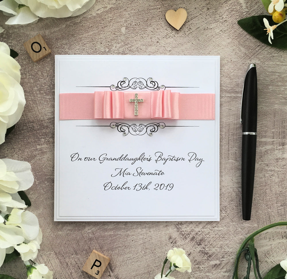 Personalised Christening/Baptism Card