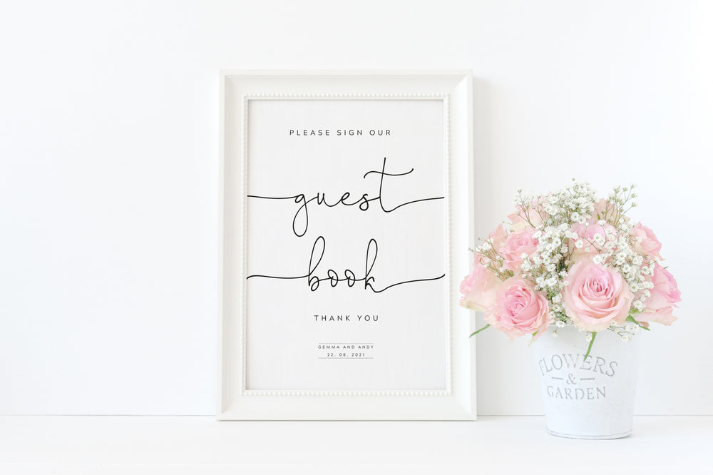 Guest Book Sign - Personalised