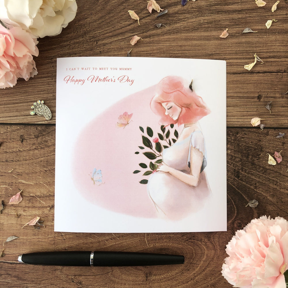 Mother-to-be Mother's Day Card