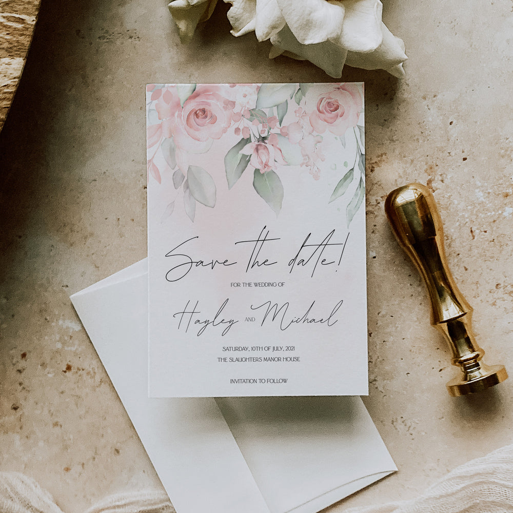 Royal Oak - Save the Date Card