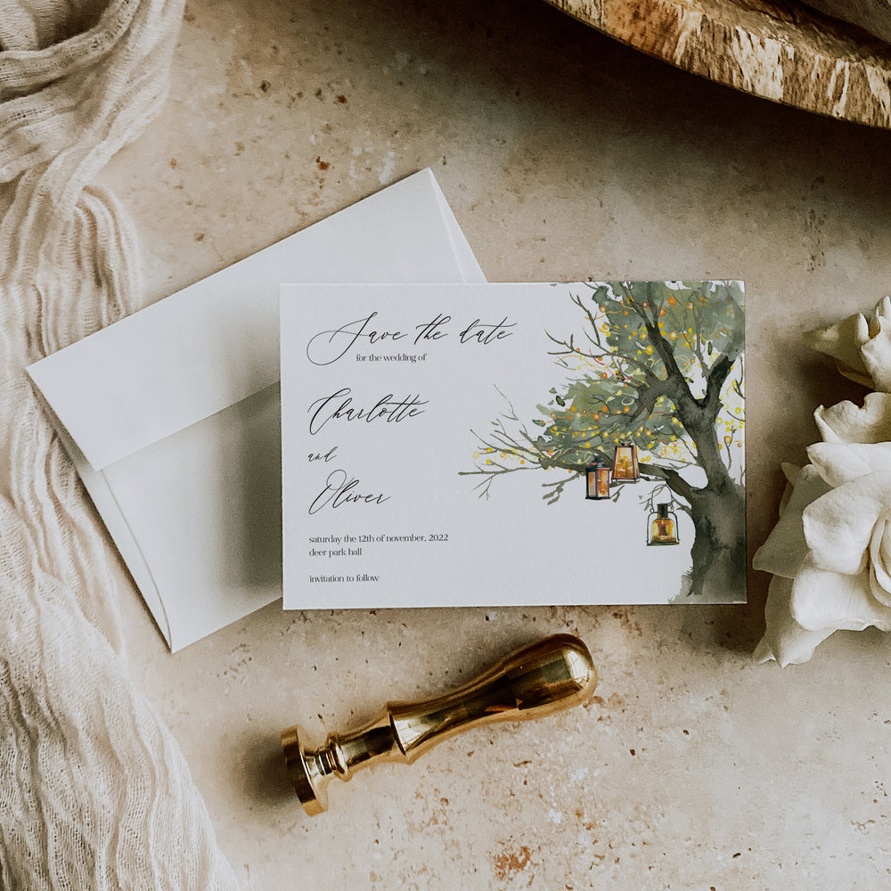 Woodgreen - Save the Date Card