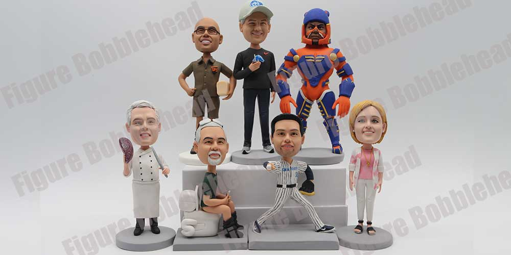 Finished Products Show of Figure Bobblehead-3