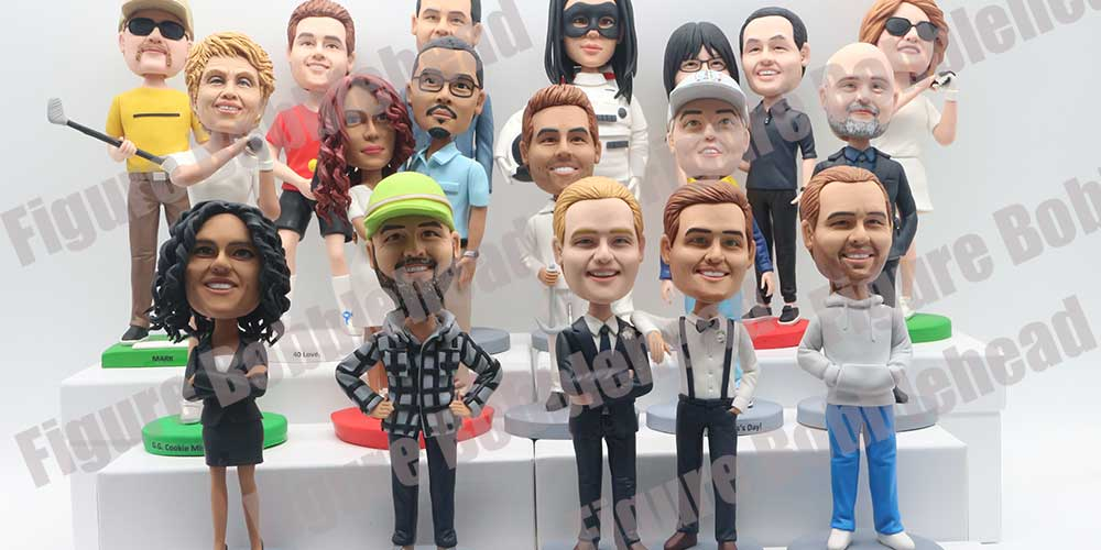 Finished Products Show of Figure Bobblehead-5
