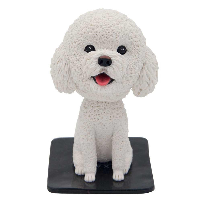 Cute Dashboard Dog Custom Bobblehead