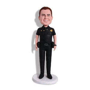 Male Military Army Policeman Police Officer Cop Uniform Custom Bobblehead