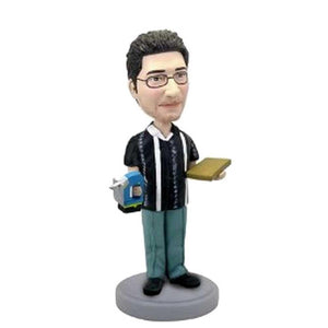 Male Carpenter Custom Bobblehead