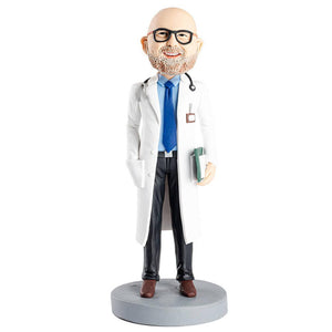Professional Doctor Custom Figure Bobblehead