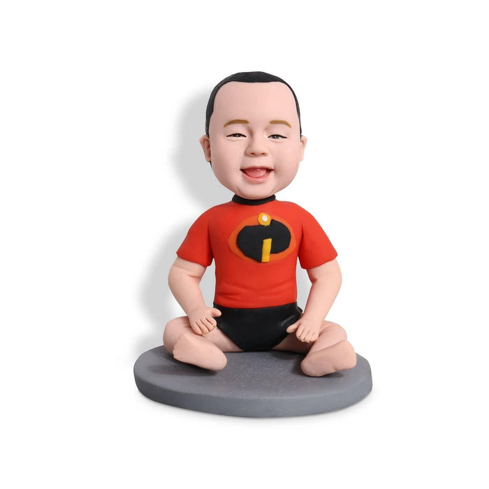 Super Cute Baby Custom Figure Bobblehead