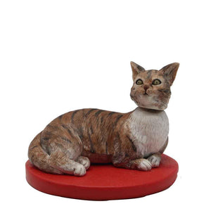 Fully Customizable Bobblehead for 1 Cat
