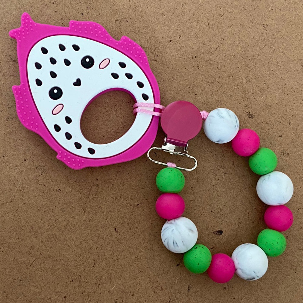 Dragon Fruit Paci Clip