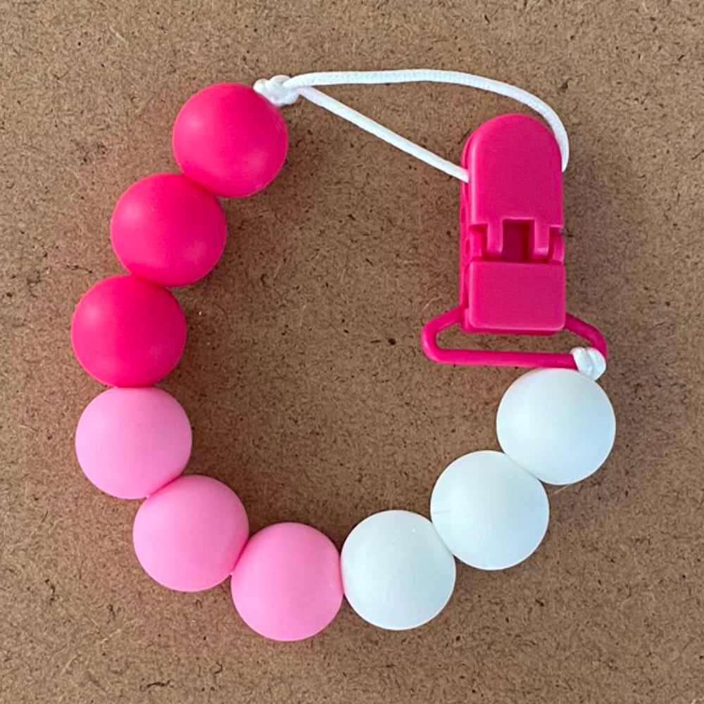 Pink Ray Paci Clip