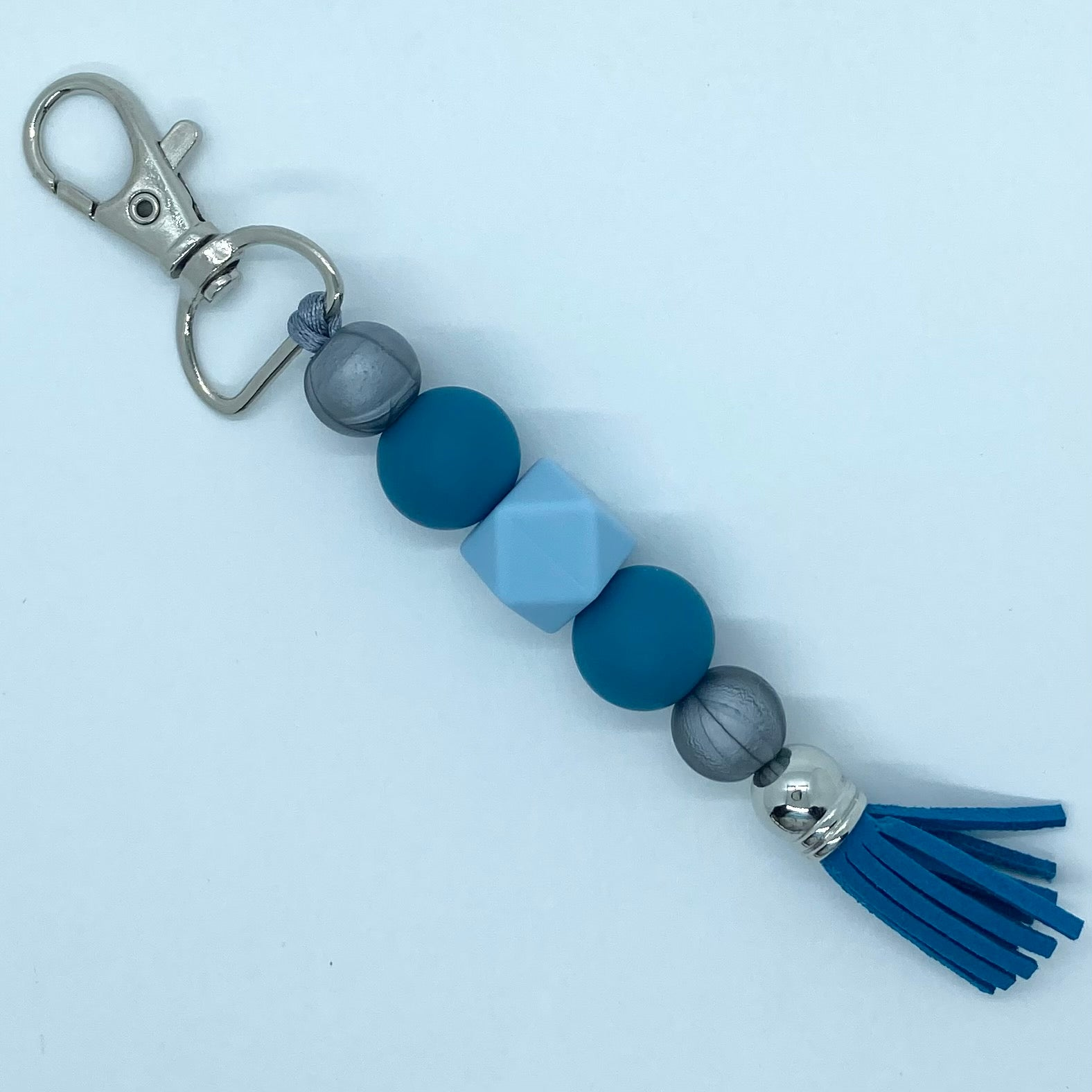 Biscay Blue Key Chain