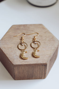 Venice Moon Earrings