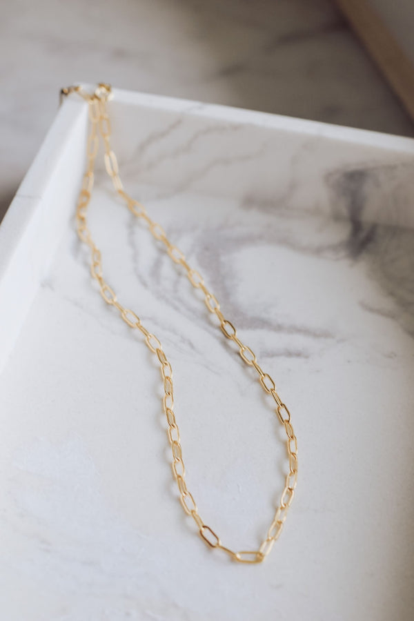 Simple Oval Chain