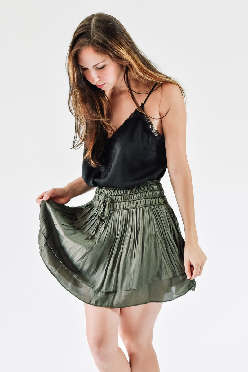 Hayden Tiered Skirt