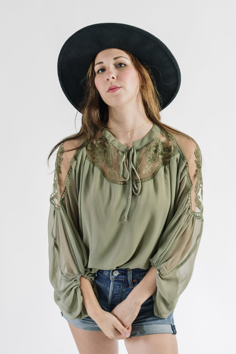 Caroline Embroidered Blouse