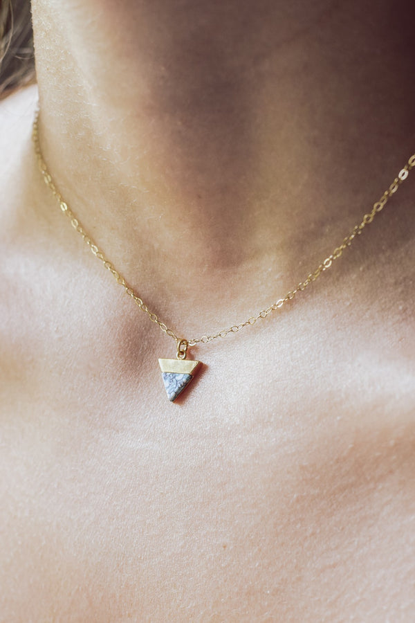 Bermuda Triangle Necklace