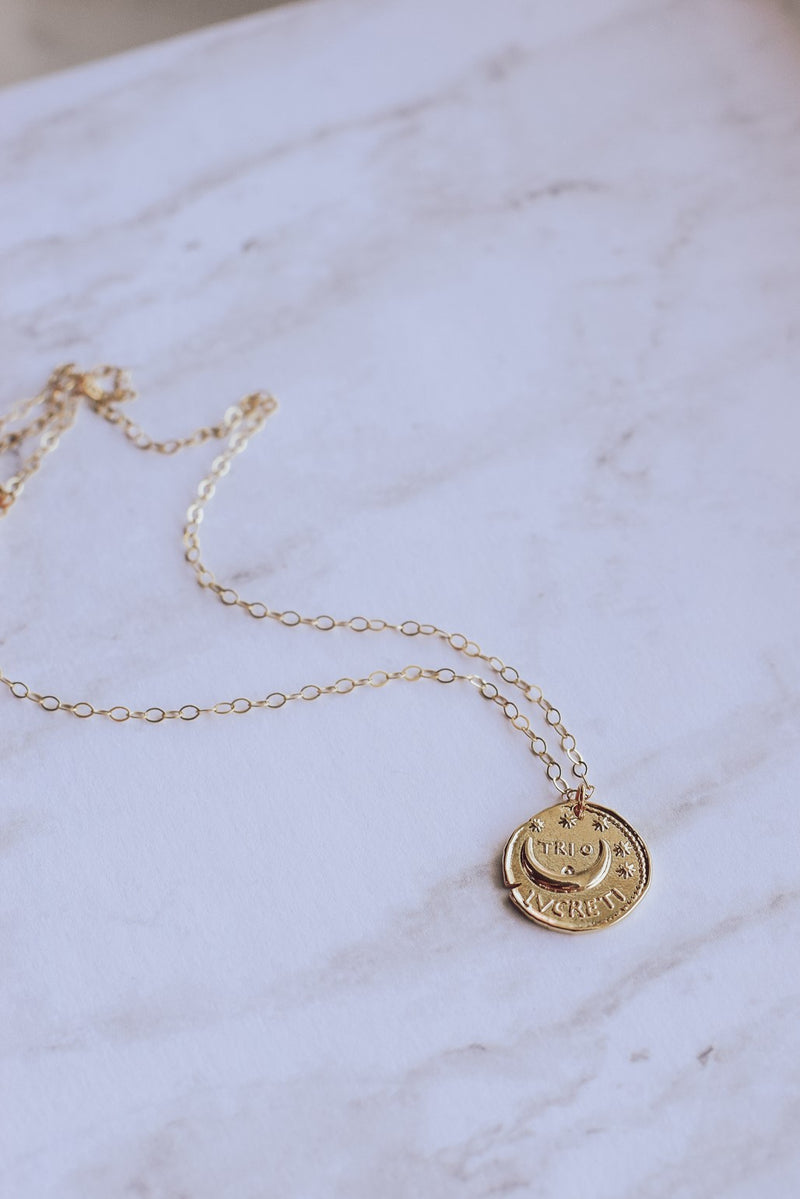 Ancient Star Coin Necklace