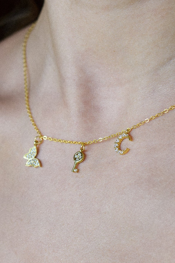 Earth Angel Charm Necklace